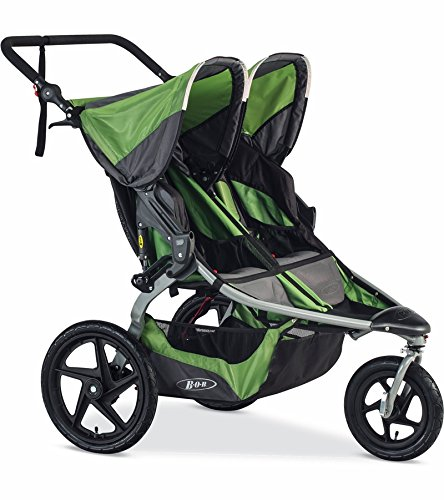 BOB 2016-2017 Revolution Flex Duallie Jogging Stroller, Meadow