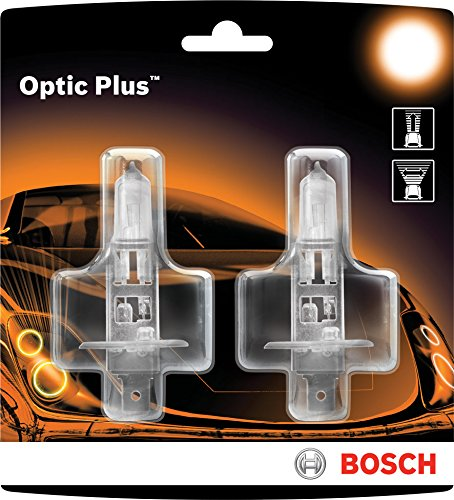 Bosch 9003 Optic Plus Upgrade Halogen Capsule, Pack of 2
