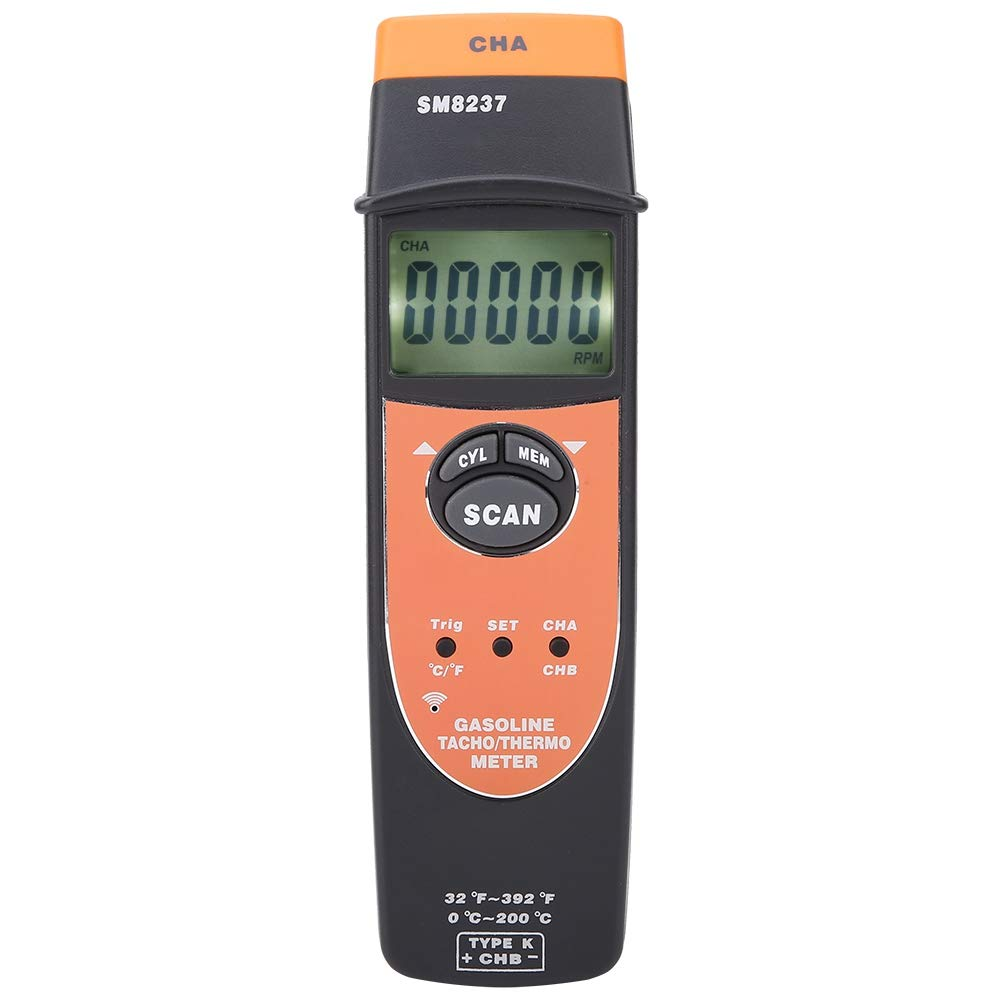 Probador del medidor de rotación del tacómetro del motor de ...
