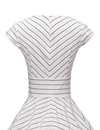 ec3d80294028 GownTown Womens Dresses Party Dresses 1950s Vintage Dresses Swing Stretchy  Dresses