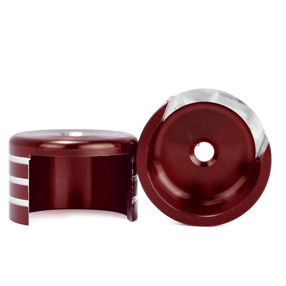 LoraBaber para Honda REBEL CMX500 CMX300 2017 2018 2019 Airbag decorativo de gas trasero Amortiguador Tapa de cubierta decorativa CMX 500 300 Accesorios rojo