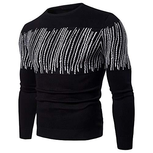 De Redondo suéteres Jerséis Cuello Manga B Transpirable Rojo Otoño Invierno  estampado suéter algodón Larga Hombre ... 300dc1f5d9dfb