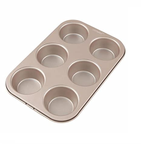 KAOP Molde de Torta de Metal Inicio Pan Redondo Molde de Hamburguesa Antiadherente Pan para Hornear