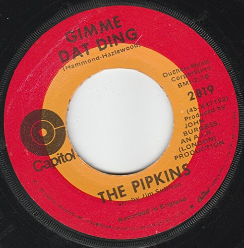 The Pipkins - 45vinylrecord Gimme Dat Ding/to Love You - Zortam Music