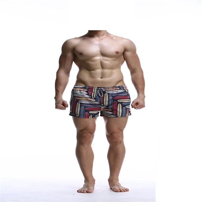 Amazon.com: zhangjzj para hombre Surf playa pantalones ...