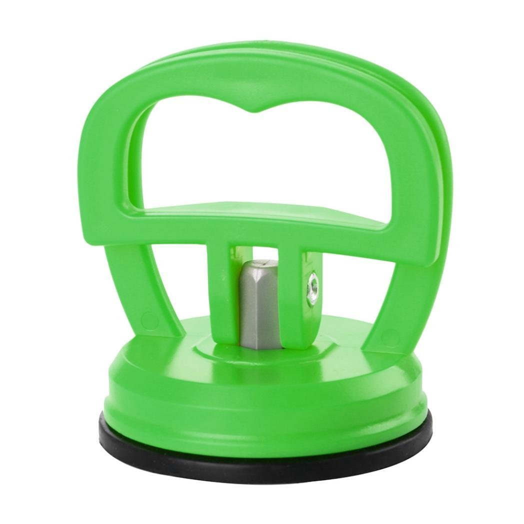 Longay Mini Car Dent Remover Puller Auto Body Dent Removal Tools Strong Suction Cup Car Repair Kit (Mint Green)