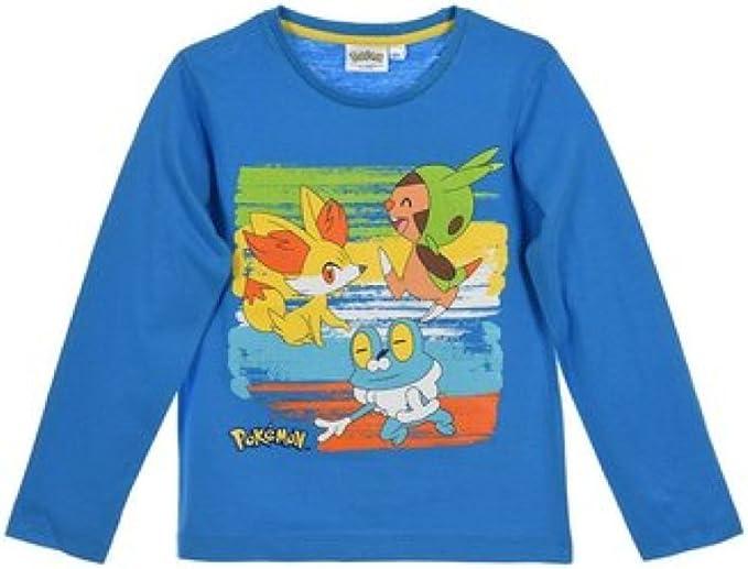 Pokemon - Camiseta de manga larga - para niño: Amazon.es: Ropa y accesorios