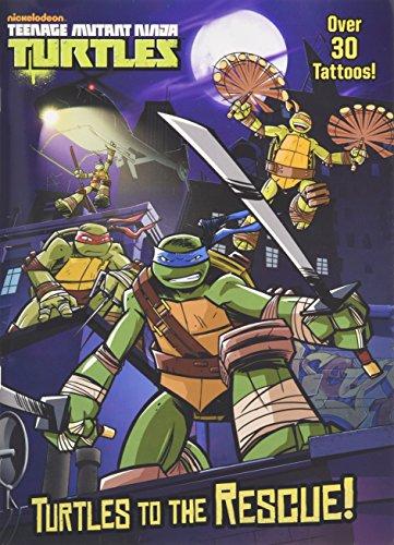 Turtles to the Rescue! (Teenage Mutant Ninja Turtles) (Color Plus (Ninjas For Kids)