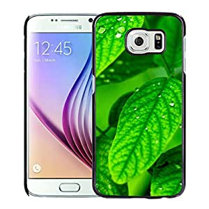 Macro Dew Leaf Durable High Quality Samsung Galaxy S6 Case
