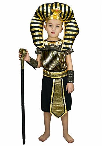 DSplay Boy's Egyptian Priest Costume (7-9Y) -