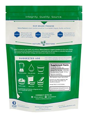 Nature Restore Organic Pine Bark Extract powder 226 grams Standardized to 95 proanthocyanidins Discount
