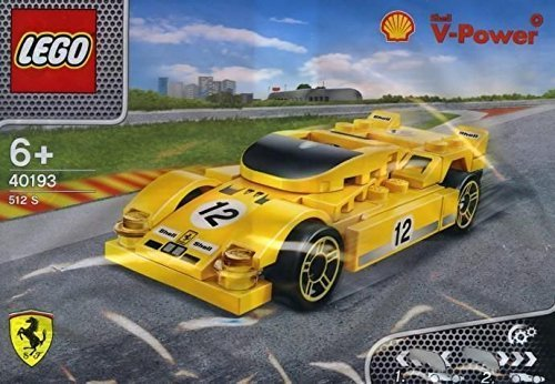 LEGO 2014 The New Shell V-Power Collection Ferrari 512 S 40193 Exclusive Sealed ()