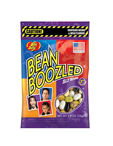 Coolmp Pack of 12 Jelly Belly Sweets in Bean Boozled Bag 54 grams – One Size – Decoration Party Accessories, Animation…