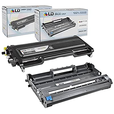 LD Compatible Brother TN350 & DR350 Toner Cartridge & Drum Unit Includes: Black TN350, Drum Unit DR350