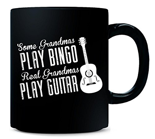 Some Grandmas Play Bingo Real Grandmas Play Guitar - Mug by AttireOutfit