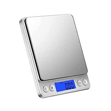 Balanza de precisión 300 g/0,01 Digital Báscula Balanza Digital de Cocina Báscula