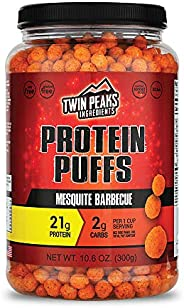 Twin Peaks Low Carb, Keto Friendly Protein Puffs