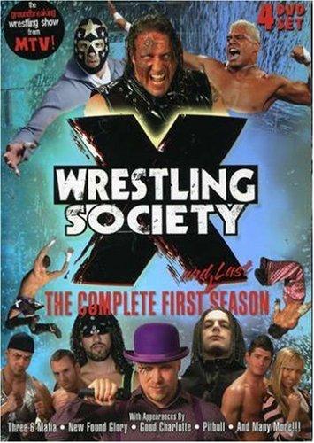 Wrestling Society X: Complete First Season DVD 2007 Region 1