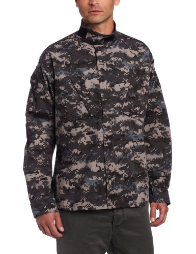 Propper Men's 65P/35C ACU Coat, Subdued Urban Digital, XX-Large (Propper Zipper)