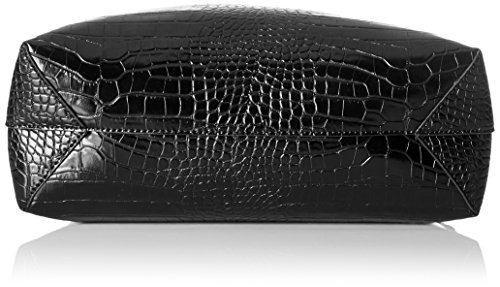 Trussardi Jeans 75B002 Aspen Borsa Tote, 48 cm, Nero