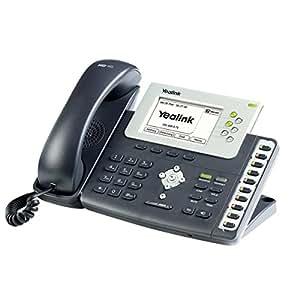 Yealink SIP-T28P LCD Wired handset Negro - Teléfono IP (LCD, 320 x 160 Pixeles, 1000 entradas, G.711a, G.722, G.723.1, G.726, G.729ab, IEEE 802.1p, IEEE 802.1Q, IEEE 802.1x, IEEE 802.3af, 3,1W)
