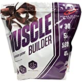 Muscle Building Smoothie Powder, Weight Gainer Smoothie Powder, Natural Ingredients, Chocolate 5lbs by Power Blendz