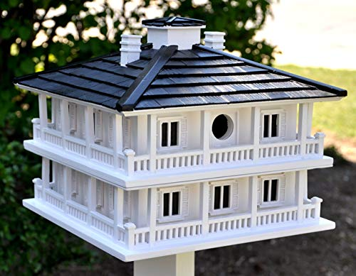- Home Bazaar Hand-made Clubhouse Bird House - Big Bird House - Home Decor