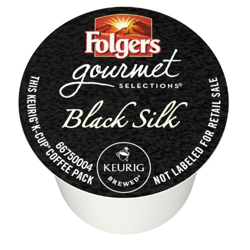 Folgers Black Silk Coffee, Dark Roast, K-cup Pods For Keurig K-cup Brewers, 12-count (pack Of 6) Icon