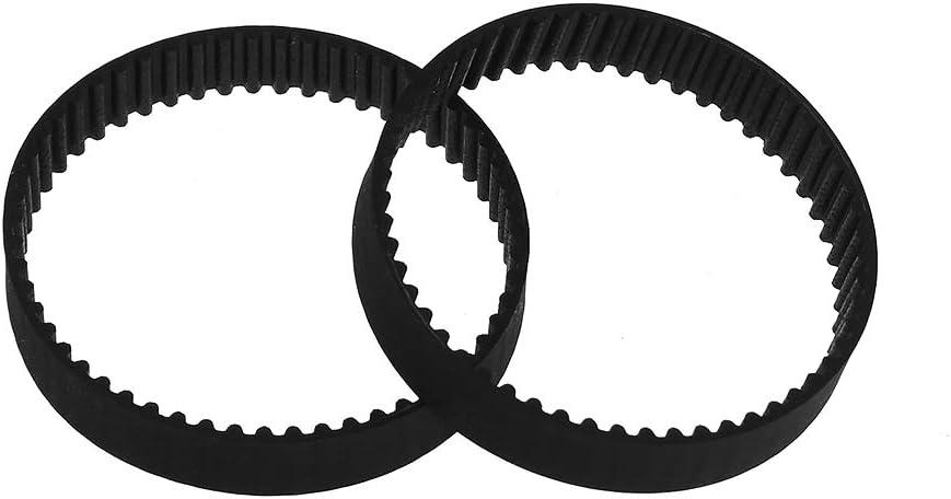 Aibecy GT2 Closed-Loop Timing Belt Rubber Synchronous Belts W=6mm L=110//112//158//200//280//400//610//852//1220mm 3D Printer Parts Kits Pack of 2pcs