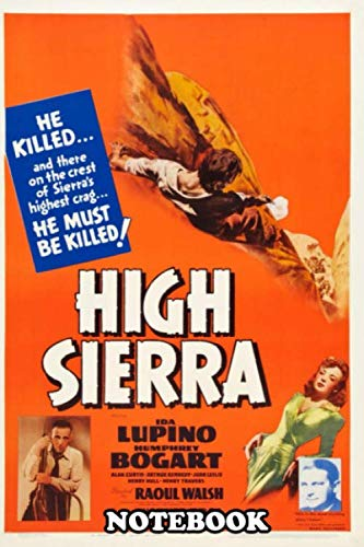 "Notebook: Sierra Poster Explore The 100 Greatest Film , Journal for Writing, College Ruled Size 6"" x 9"", 110 Pages"
