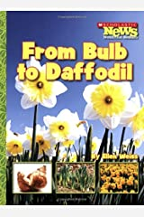 From Bulb to Daffodil (Scholastic News Nonfiction Readers) Paperback