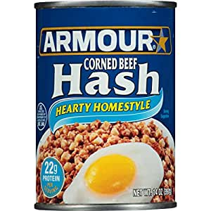 Armour Star Corned Beef Hash, 14 oz.
