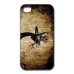 Nightmare Before Christmas Non-Slip Case Cover For IPhone 4/4s - Funny Case