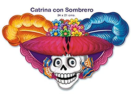 Amazon.com  Catrina Con Sombrero  Home   Kitchen b1db25181f9