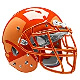Schutt Sports Vengeance VTD II Football Helmet Without Faceguard, Burnt Orange, Small