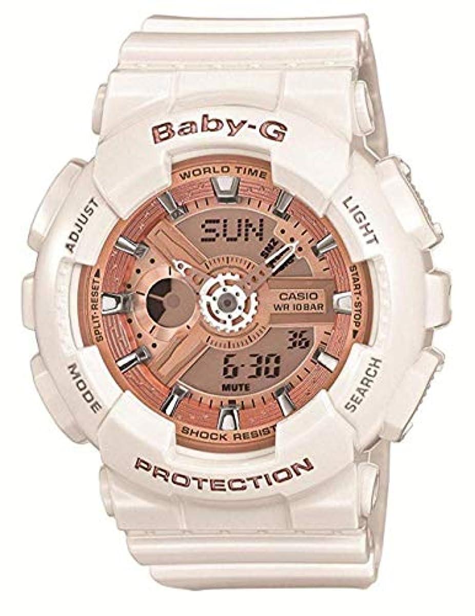 [해외] [카시오] 손목시계 BABY-G BA-110-7A1JF 화이트