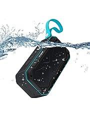 ELEGIANT Bluetooth Lautsprecher, IPX7 Wasserdicht 5W Lautsprecher Tragbar kabellos Wireless Stereo Speaker Boombox Mic 2000 mAh 12H in Dusche Pool Outdoor für iPhone X Galaxy S9 Huawei Mate 10 usw