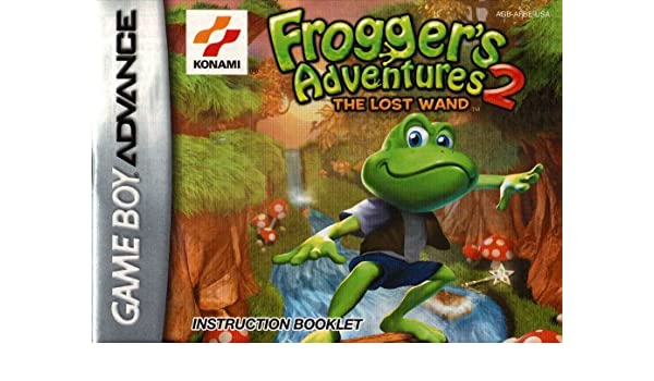 Froggers Adventures 2 - The Lost Wand GBA Instruction ...