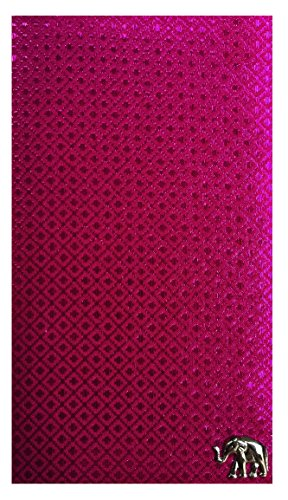Pink Fabric Waitstaff Organizer Guest Check Presenter, Check Book Holder for Restaurant, Checkbook Cover, Check Pad Holder, Server Book for Waiter with Money Pocket 2 /With Plastic Cover by Kathy