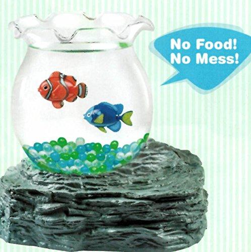 Fake Swimming Fish in Bowl