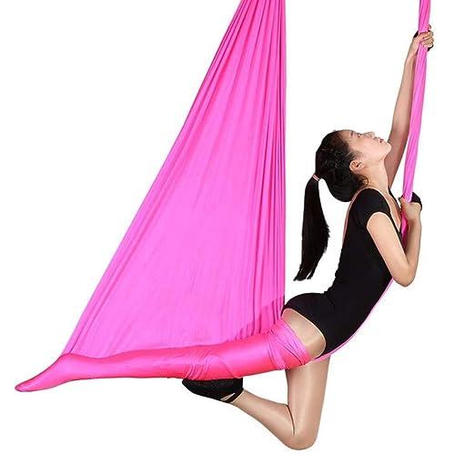 NFNFUNNM Hamaca De Yoga Aérea para Interiores Y Exteriores ...