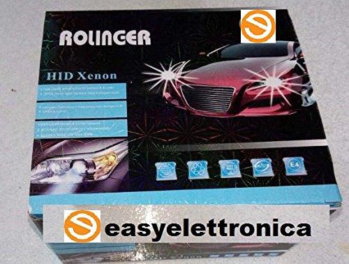 EASYELETTRONICA® KIT XENON H11 6000°K CANBUS 35 WATT CON CENTRALINE SLIM ADATTO PER QUALSIASI VEICOLO CON ATTACCO H11 Selex