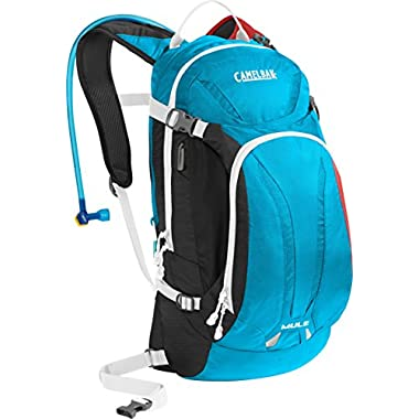 CamelBak M.U.L.E. Hydration Pack, Charcoal/Atomic/Barbados