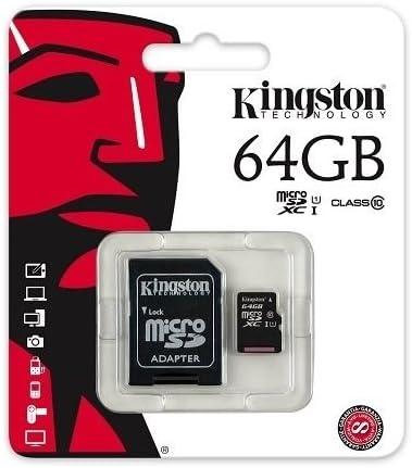 Class 10 Kingston Ultra Micro SD Memory Card 64GB