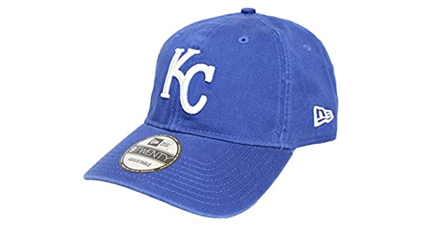 wholesale dealer c6ae3 224b6 ... usa amazon kansas city royals new era mlb 9twenty team sharpen  adjustable hat clothing 64aac 833a1