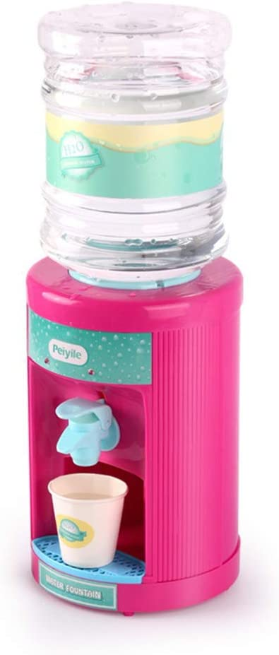 con LED Mini Simulación Dispensador de agua de juguete Juego de cocina Casa dispensador de agua de juguete juguetes eléctricos para niños para niños y niñas: Amazon.es: Oficina y papelería