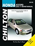 Honda Accord Automotive Repair Manual, 2003-2007, , 1563929317