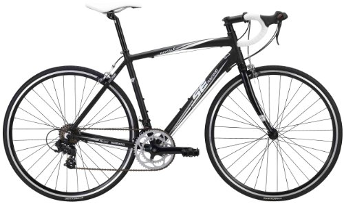 SE Bikes Royal 14-Speed Road Bicycle, Matte Black, 46 cm For Sale