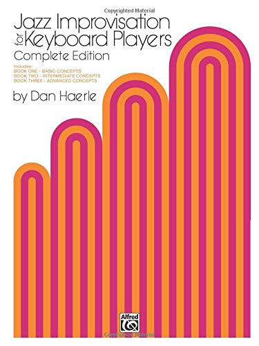Jazz Improvisation for Keyboard Players: Complete - Basics Dvd Keyboard