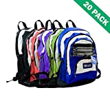 School Backpack, Sports Teen Backpacks For Travel 17 Inch Unisex - Case Of 20